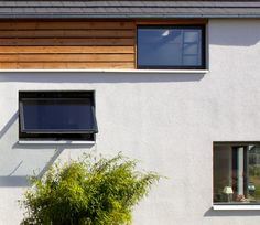 Haus F, Fassadenausschnitt Garage Doors, Outdoor Decor, Home Decor, Architecture, Projects, House, Decoration Home, Room Decor, Home Interior Design