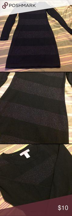 Banana Republic black dress Gently used black dress with design as shown. No flaws :) Banana Republic Dresses