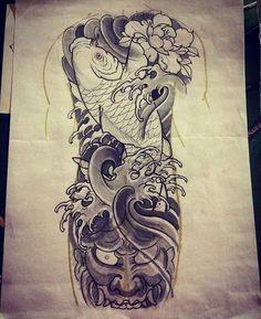 Kiss Tattoos, Dream Tattoos, Cover Up Tattoos, Skull Tattoos, Tattoos For Guys, Sleeve Tattoos, Tattoos For Women, Hannya Mask Tattoo, Hanya Tattoo
