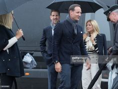 Crown Princess Mette Marit of Norway, Crown Prince Haakon of Norway, Crown Prince Pavlos of Greece and Princess Marie-Chantal of Greece attend a lunch on the Royal yacht, Norge, on the occasion of the celebration of King Harald and Queen Sonja of Norway 80th birthdays, on May 10 2017 in Oslo, Norway. (Photo by Nigel Waldron/ Getty Images)OSLO, NORWAY - MAY 10: attends a lunch on the Royal yacht, Norge, on the occasion of the celebration of King Harald and Queen Sonja of Norway 80th…