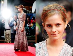 If I could... I would own all of Emma Watson's dresses.