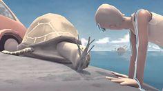 Sayonara: Een kortverhaal over twee ongewone vrienden. Een jonge man, Charles, werd net uit zijn huis gezet en spendeert een dag met zijn beste vriend, een zeeschildpad, voor hij zijn leven verder zet.