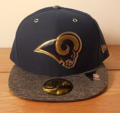 d1e67fc45b9 Los Angeles LA Rams Hat 2016 NFL Draft On Stage 59FIFTY Cap New Era  Licensed  NewEra  LosAngelesRams