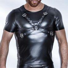 De 7 beste afbeeldingen van leather shirts men | Strakke