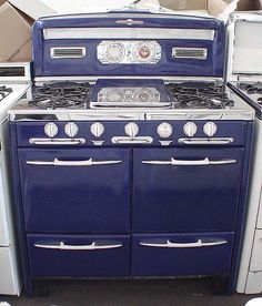 General Appliance Refinishing, Inc. - Stoves For Sale: 39inch Early 1950's O'Keefe & Merritt