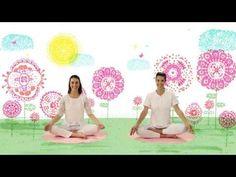 """YOGIC / Yoga para niños - Cápsula """"Rugir como el león"""" - Juegos y canciones infantiles - YouTube"""