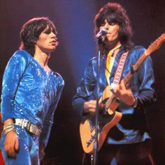 The Glimmer Twins — heresjohnnyinmymind:  Mick Jagger & Keith Richards