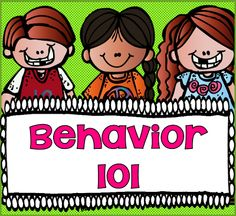 One of the first things I was told as new teacher was the importance of behavior. You couldn't teach them until you had firm control of their behavior. This post has packet with behavior tips, charts, and forms. $
