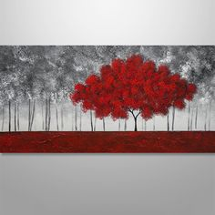 Abstract Painting Tree Painting textured Painting Landscape