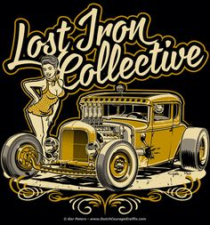 """Lost Iron Collective"" T-Shirt Logo Art Work"