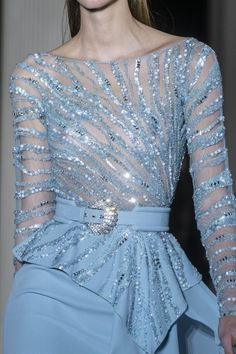 Womens Fashion - Zuhair Murad Couture Spring 2019 Fashion Show Details. Designer looks from the Spring 2019 Couture runway shows from Paris Couture Fa Gala Dresses, Ball Gown Dresses, Couture Dresses, Evening Dresses, Zuhair Murad, High Fashion Dresses, Fashion Outfits, Pretty Prom Dresses, Haute Couture Fashion