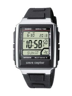 Casio Funkuhren Herren-Armbanduhr Digital Quarz WV-59E-1AVEF - http://uhr.haus/casio/casio-funkuhren-herren-armbanduhr-digital-quarz