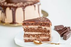 I love this cake, not only because it's chocolate, but how moist and light it tastes. This is definitely one of my favorite cakes. Although instructions on this cake seem never ending, they are actually a collection of very simple, general cake tips, that apply to most cakes. So it shouldn't be all that complicated.