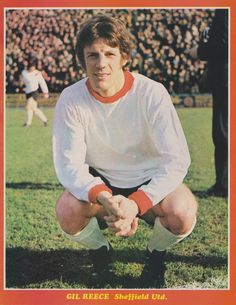 Gil Reece Sheffield United 1970 Welsh Football, Sheffield United Fc, Laws Of The Game, Association Football, Most Popular Sports, World History, Kids And Parenting, World Cup, Terrace