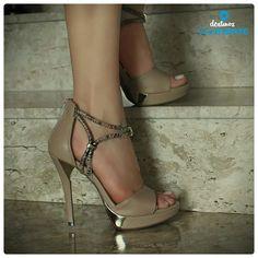 Salto alto – nude – heels – party shoes - Ref. 14-19001 – Verão 2015