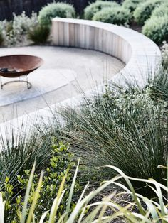 Big Garden Design The Clubhouse by Wolveridge Architects Australian Garden Design, Australian Native Garden, Australian Beach, House Landscape, Garden Landscape Design, Sorrento, Back Gardens, Outdoor Gardens, Small Gardens