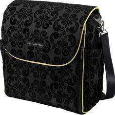 Petunia Pickle Bottom Boxy Backpack Diaper Bag Blk
