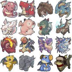 Creature Drawing ◆Dragon Flight [Next Game Character Design, Character Creation, Character Design Inspiration, Character Concept, Character Art, Cartoon Monsters, Cute Monsters, Monster Design, Monster Art