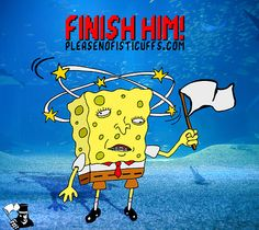 #Spongebob #Square #Pants #mortal #kombat #finish #him