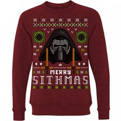 Merry Sithmas Sweater - $40 - Star Wars Christmas Gifts! http://amzn.to/2eOwPyF