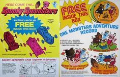 21. Spooky Speedsters - The 25 Greatest Cereal Prizes of All Time | Complex