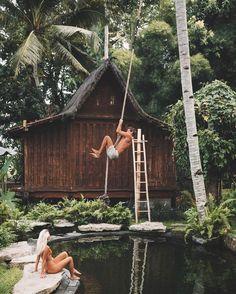 let's enjoy paradise