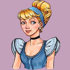 Cinderella by *rynarts on deviantART