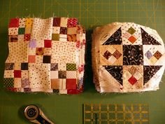 Sue Garman: blocks are double nine patch and Prairie Queen or Shoo Fly.