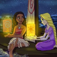 Friends ❤ (credit to dfanart ok Tumblr) #moana #rapunzel #hiccup #tangled #auliicravalho #disney #dreamworks