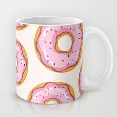 Donut Mug by Ceren Aksu Dikenci