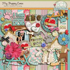 My puppy love by Boutique Cute Doll
