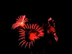 Heart Fireworks by Cynthia Woods