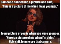 Mitch Hedberg-one of the best in my opinion Lol, Haha Funny, Funny Stuff, Funny Things, Funny Man, Funny Shit, Random Stuff, Happy Things, Freaking Hilarious