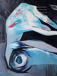Dandelion 100x120 cm oil on canvas