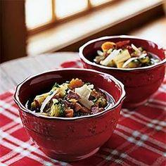 Ham and Vegetable Soup Recipe | MyRecipes.com