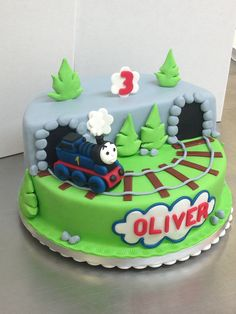 Thomas the Tank Engine Cake!