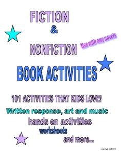 101 Book Activities Kids Love - Pinned by @PediaStaff – Please Visit  ht.ly/63sNt for all our pediatric therapy pins