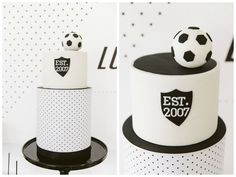 Party Inspirations: Modern Hexagon Inspired Soccer Party by Red Wagon Events