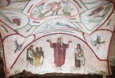 Orant Fresco Catacombs of Priscilla