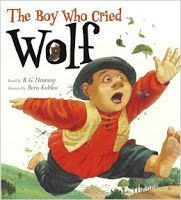 The Boy Who Cried Wolf is perfect for a compare/contrast lesson with The Boy Who Cried Bigfoot.
