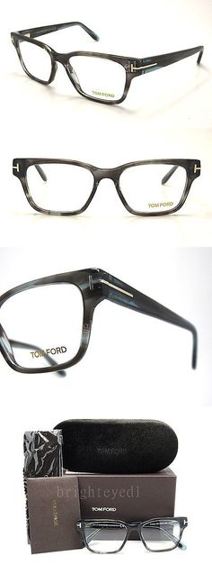 5bec49f318 Eyeglass Frames  Authentic Tom Ford Grey-Blue Rx Eyeglasses Ft Tf 5288 - 055