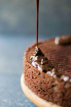 Double Chocolate Beet Cake is dense and moist with a wonderful velvety texture. This is the cake for any occasion like Christmas. | http://giverecipe.com | #chocolatecake #beet