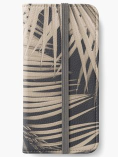 """Palm Leaves Sepia Vibes #1 #tropical #decor #art"" iPhone Wallets by anitabellajantz 