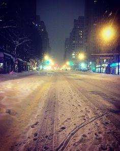 #blizzard2016 #jonas #snowzilla #nyc #manhattan by pasionporlafruta
