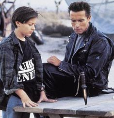 "Never noticed it before, but Eddie Furlong (John Conner) is wearing a ""Public Enemy"" shirt in Terminator 2. Dope."