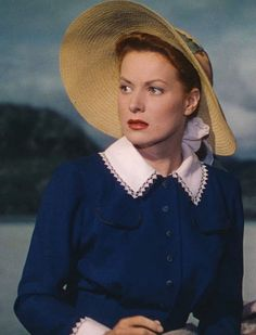 "Maureen O'Hara, ""The Quiet Man"", 1952"