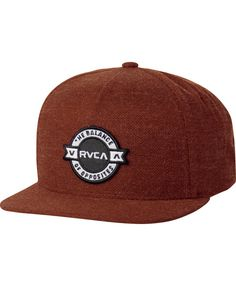 RVCA HATS / BEANIES DEFINED FIVE PANEL SNAPBACK HAT