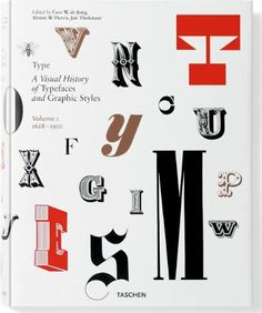 Type, Volume 1: A Visual History of Typefaces and Graphic Styles by Jan Tholenaar