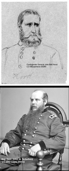 Today in History, Confederate General John Bell Hood attacked troops under John Schofield. November 30, 1864 - Battle of Franklin, Tennessee. Five Rebel generals were wounded and six more killed, more than in any other battle in the war. http://asoldiersfriend.com/