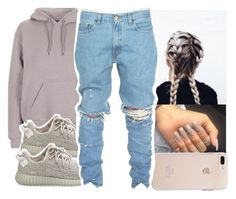 """"""""""" by aribearie ❤ liked on Polyvore featuring Topshop and adidas Originals"""